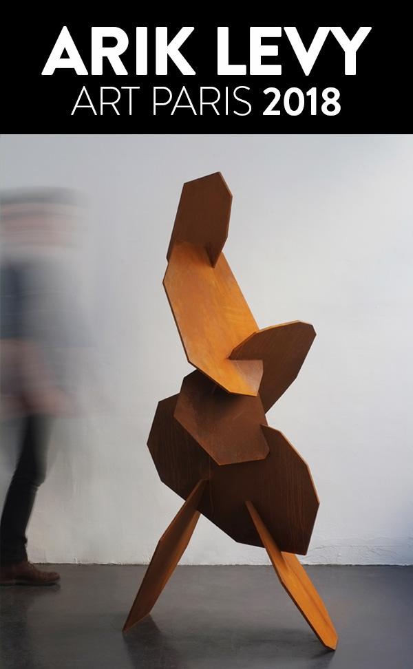 ARIK LEVY at Art Paris 2018