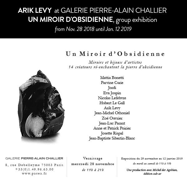 ARIK LEVY  at GALERIE PIERRE-ALAIN CHALLIER